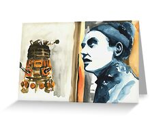 The Time of the Doctor. Greeting Card