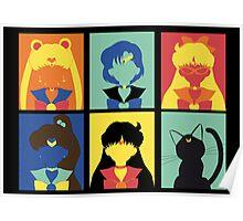 Sailor Pop Art poster Poster