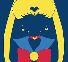 Sailor Moon Mask Head Pop poster by EdWoody