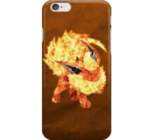 Flareon Silhouette iPhone Case/Skin