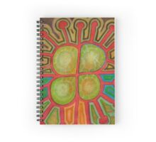 Pituresque Painting within Bizarre Form Spiral Notebook