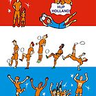 Worldcup NEDERLAND 2014 by colortown