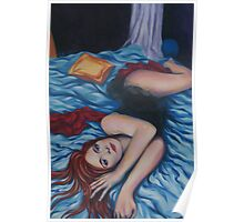 Unwrap Me - 2004 - acrylic on canvas Poster