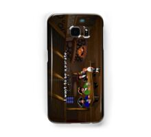 I want to be a pirate! (Monkey Island 2) Samsung Galaxy Case/Skin