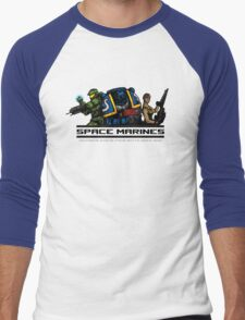 Space Marines! Men's Baseball ¾ T-Shirt