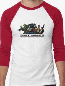 Space Marines! Men's Baseball ¾ T-Shirt