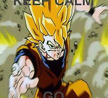 Don' t Keep Calmn, Go Super Saiyan (14, Zoom Blur) by LagrangeMulti