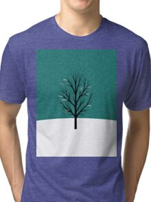Snow Tri-blend T-Shirt