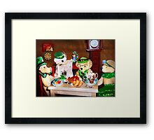 'No beer this year... just hats' Framed Print