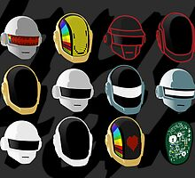 Helmet History Prints by TheFrisby