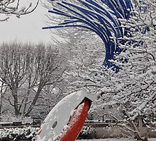 Typewriter Eraser - National Gallery of Art - Sculpture Garden by Matsumoto