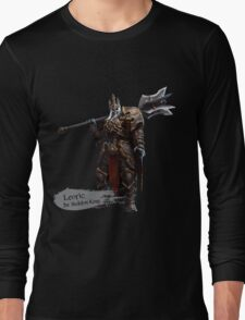 The Skeleton King Long Sleeve T-Shirt