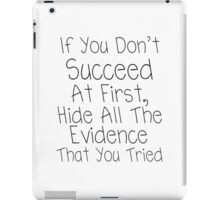 Hide All the Evidence iPad Case/Skin