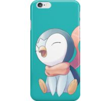 Winter Scarf Piplup iPhone Case/Skin