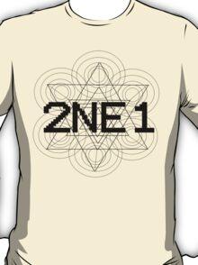 2NE1 - Black T-Shirt