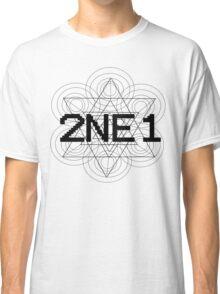 2NE1 - Black Classic T-Shirt