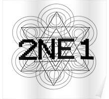 2NE1 - Black Poster