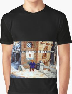 Wanted Guybrush Threepwood! (Monkey Island 2) Graphic T-Shirt