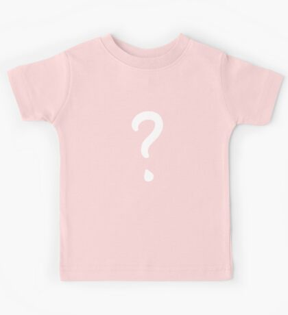 Question Mark - style 1 Kids Clothes