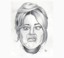 Jane Fonda's funny face by cezzacez