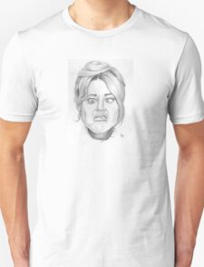 Jane Fonda's funny face T-Shirt