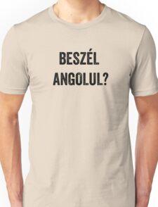 Do you speak English? (Hungarian) Unisex T-Shirt