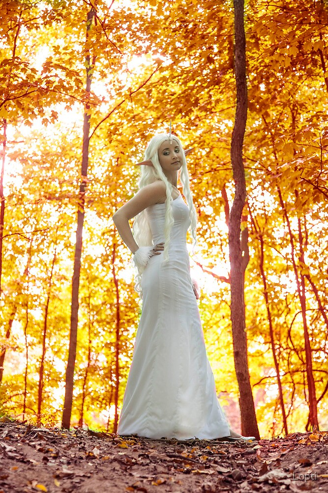 Lady of the Forest by Lopti