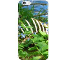 Cage in Flowers iPhone Case/Skin