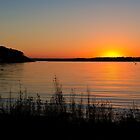 Canyon Lake Sunset by RayDevlin
