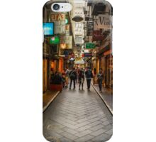 Centre Place, Melbourne iPhone Case/Skin