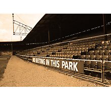 The Old Ballpark 3 Photographic Print