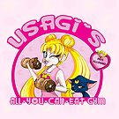 Usagi's All-You-Can-Eat Gym by LillyKitten