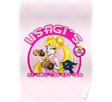 Usagi's All-You-Can-Eat Gym Poster