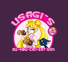 Usagi's All-You-Can-Eat Gym Womens Fitted T-Shirt