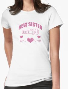 New Sister 2014 (Grunge) T-Shirt Womens Fitted T-Shirt