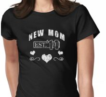 New Mother 2014 (Grunge) T-Shirt Womens Fitted T-Shirt