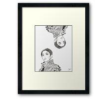 shinee key - burberry prorsum Framed Print