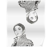 shinee key - burberry prorsum Poster