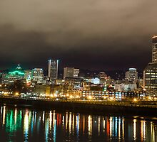 Portland by the Willamette by rkboz