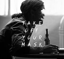 True Detective 'TAKE OFF YOUR MASK' Fan-art by Circusbrendan