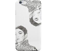 shinee key - burberry prorsum iPhone Case/Skin