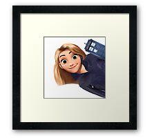 Rose Tyler x Disney Framed Print
