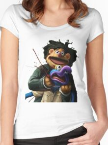 Gonzo's murder Women's Fitted Scoop T-Shirt