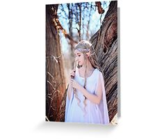 A Strand of her Golden Hair Greeting Card