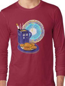 Doctor Who Tea Time! Long Sleeve T-Shirt