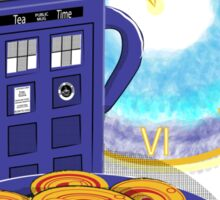 Doctor Who Tea Time! Sticker