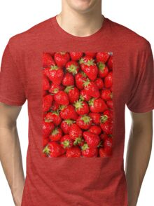 Strawberries Tri-blend T-Shirt