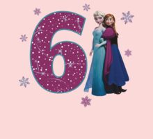 Frozen Anna & Elsa 6th Birthday by sweetsisters