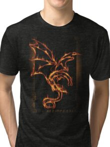 Fire and Death Tri-blend T-Shirt