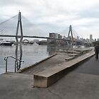 Anzac Bridge, Blackwattle Bay, Sydney by Gary Kelly